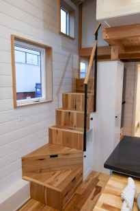37 amazing loft stair for tiny house ideas