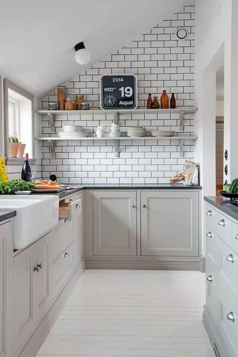 40 awesome gray kitchen cabinet design ideas