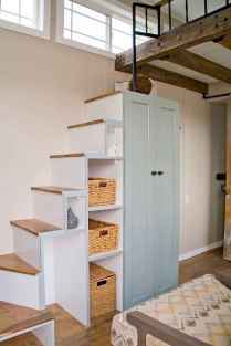 42 amazing loft stair for tiny house ideas