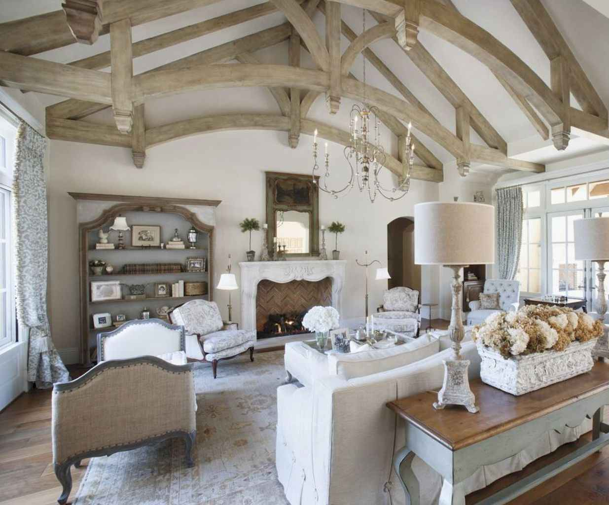 60 Fancy French Country Living Room Decor Ideas Homespecially