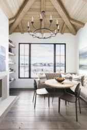 48 modern farmhouse dining room decor ideas