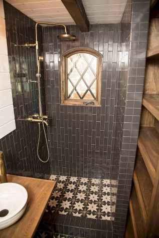 54 genius tiny house bathroom shower design ideas