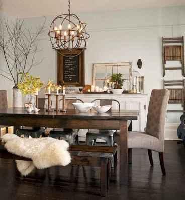 55 modern farmhouse dining room decor ideas