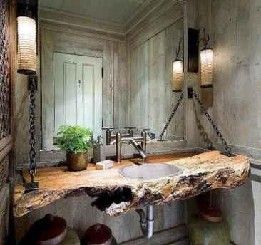 57 cool farmhouse bathroom remodel decor ideas