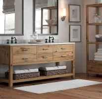 67 cool farmhouse bathroom remodel decor ideas
