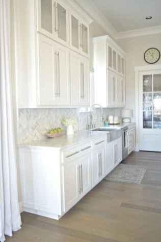 73 beautiful white kitchen cabinet design ideas