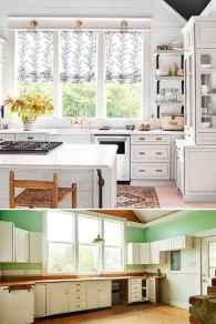 01 white kitchen cabinet decor for farmhouse style ideas
