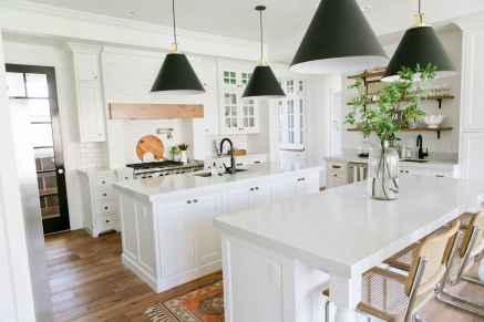 02 white kitchen cabinet decor for farmhouse style ideas