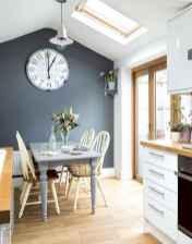 04 elegant gray kitchen cabinet makeover for farmhouse decor ideas