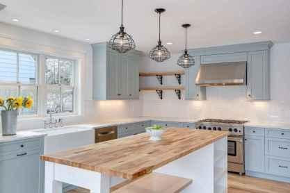 06 white kitchen cabinet decor for farmhouse style ideas