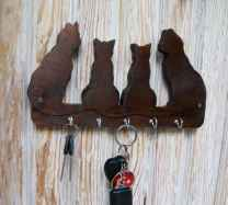 10 diy creative key holder for wall ideas