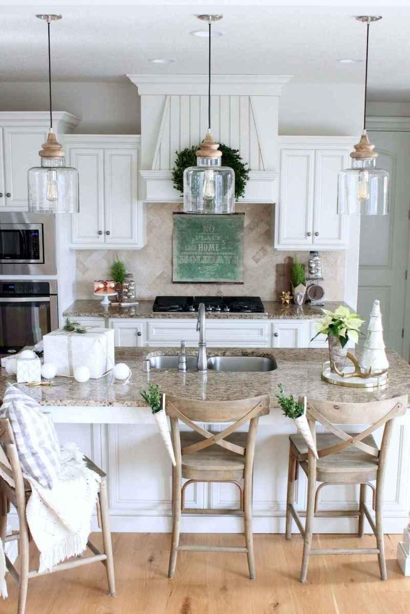 13 elegant gray kitchen cabinet makeover for farmhouse decor ideas