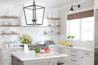 16 elegant gray kitchen cabinet makeover for farmhouse decor ideas