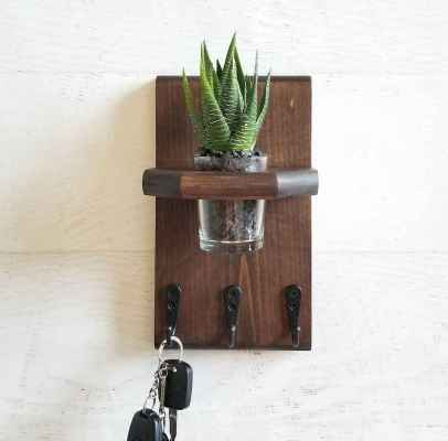 17 diy creative key holder for wall ideas