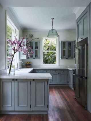 17 elegant gray kitchen cabinet makeover for farmhouse decor ideas