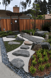 19 incredible side house garden landscaping ideas with rocks