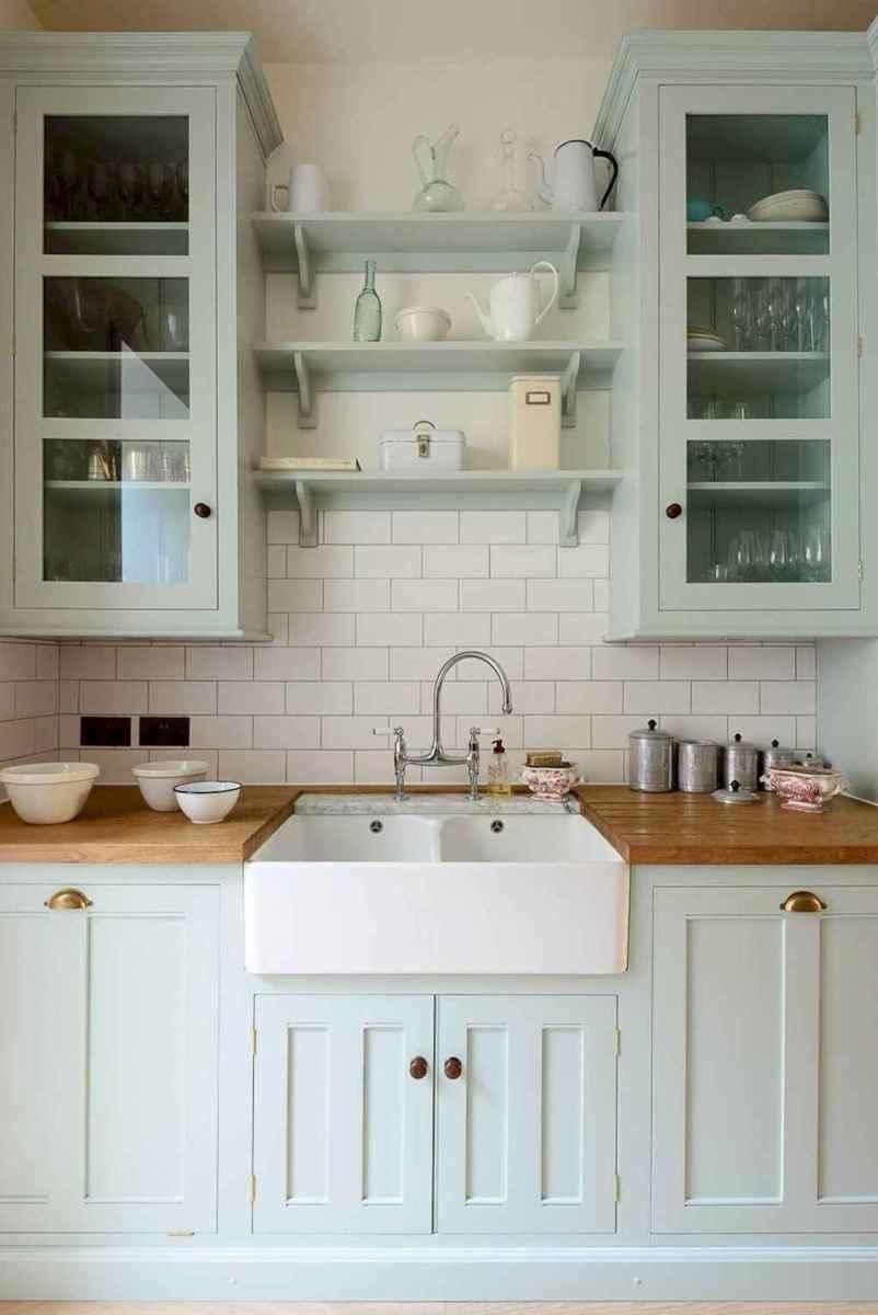 43 elegant gray kitchen cabinet makeover for farmhouse decor ideas