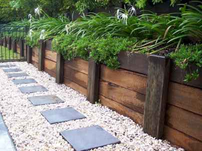 47 incredible side house garden landscaping ideas with rocks