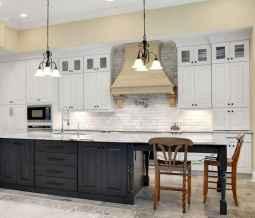 48 elegant gray kitchen cabinet makeover for farmhouse decor ideas