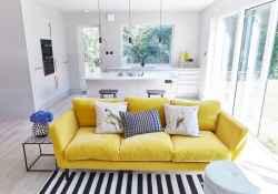 48 inspiring yellow sofas for living room decor ideas