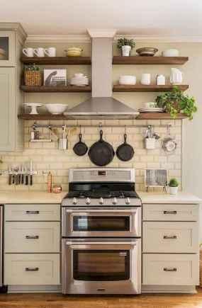 57 elegant gray kitchen cabinet makeover for farmhouse decor ideas