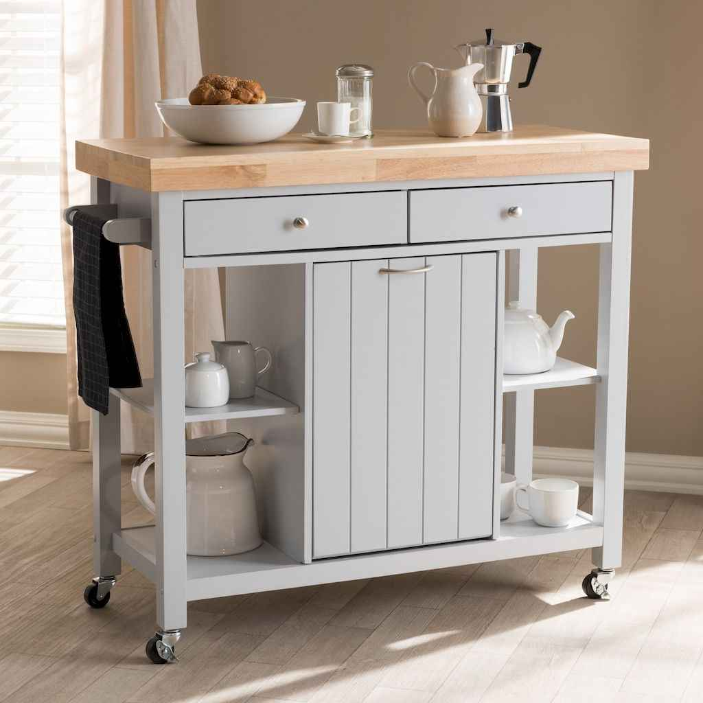 59 elegant gray kitchen cabinet makeover for farmhouse decor ideas