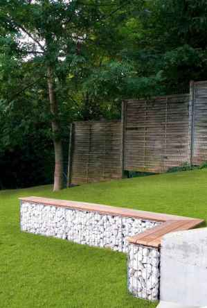63 fabulous gabion ideas for your outdoor area
