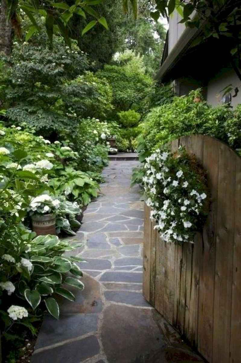 63 incredible side house garden landscaping ideas with rocks