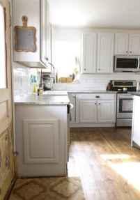 64 elegant gray kitchen cabinet makeover for farmhouse decor ideas