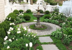 65 incredible side house garden landscaping ideas with rocks