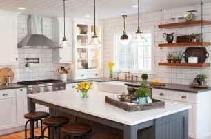 72 elegant gray kitchen cabinet makeover for farmhouse decor ideas