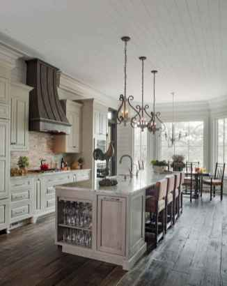 73 elegant gray kitchen cabinet makeover for farmhouse decor ideas