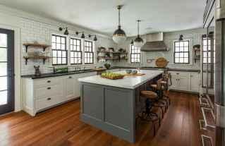 75 elegant gray kitchen cabinet makeover for farmhouse decor ideas