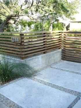24 best front yard fence design ideas