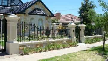 30 best front yard fence design ideas