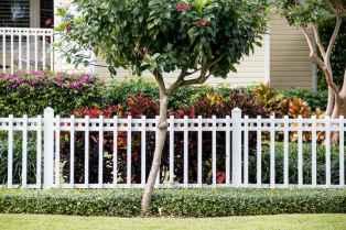 40 best front yard fence design ideas
