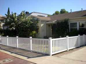 48 best front yard fence design ideas