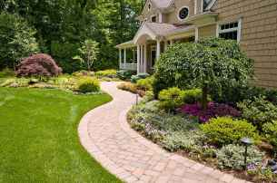 48 simple and beautiful front yard landscaping ideas on a budget