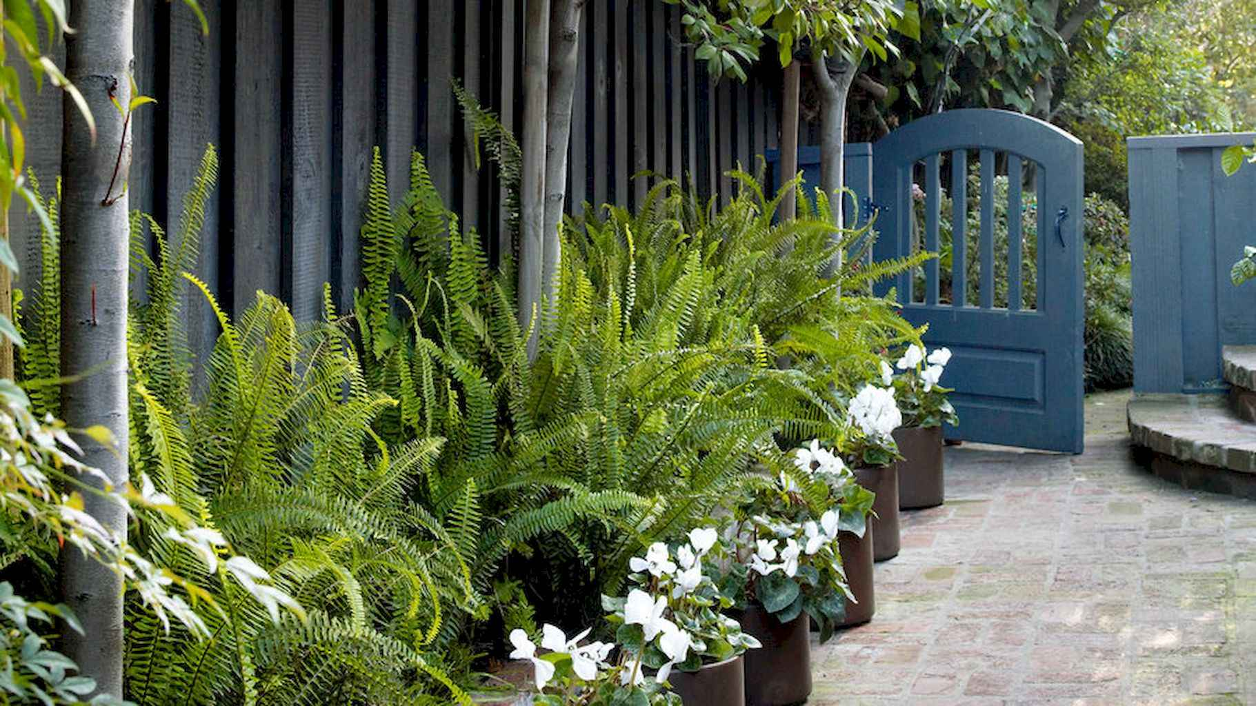 54 Incredible Side Yard Garden Landscaping Ideas With Rocks