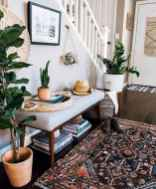 03 cozy farmhouse living room rug decor ideas