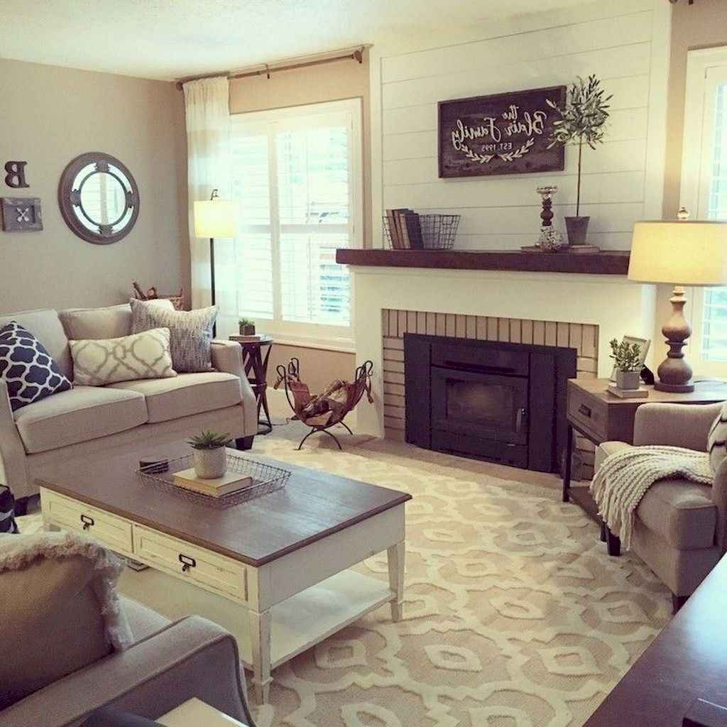 04 best modern farmhouse living room curtains decor ideas
