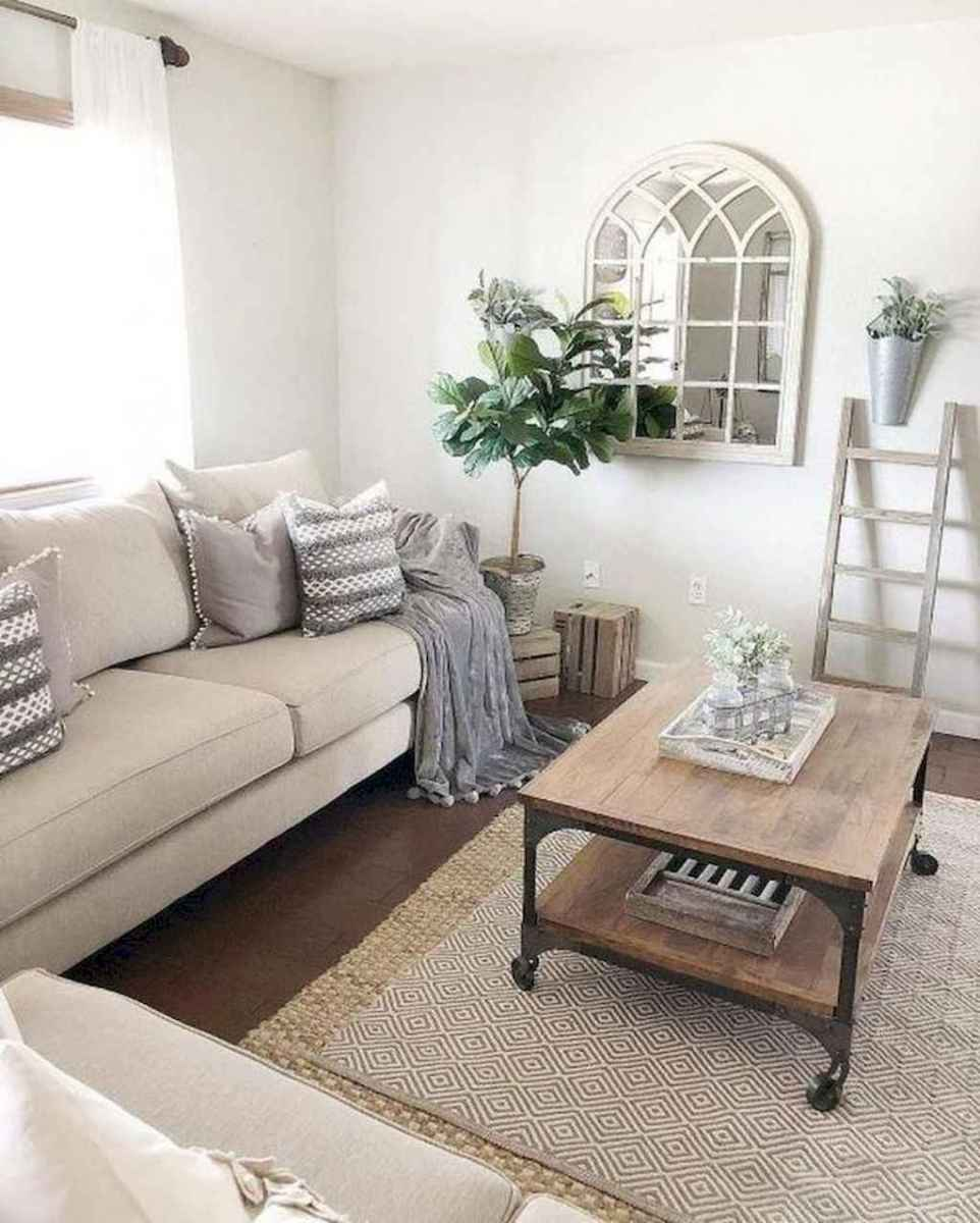 07 cozy farmhouse living room rug decor ideas
