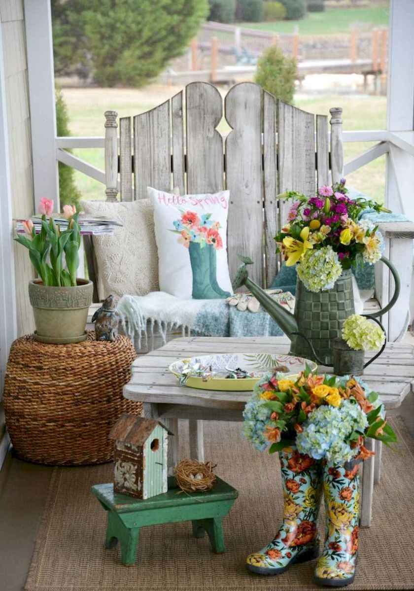 13 beautiful spring front porch decorating ideas