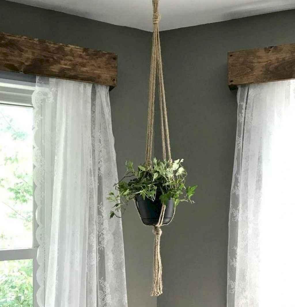 32 best modern farmhouse living room curtains decor ideas