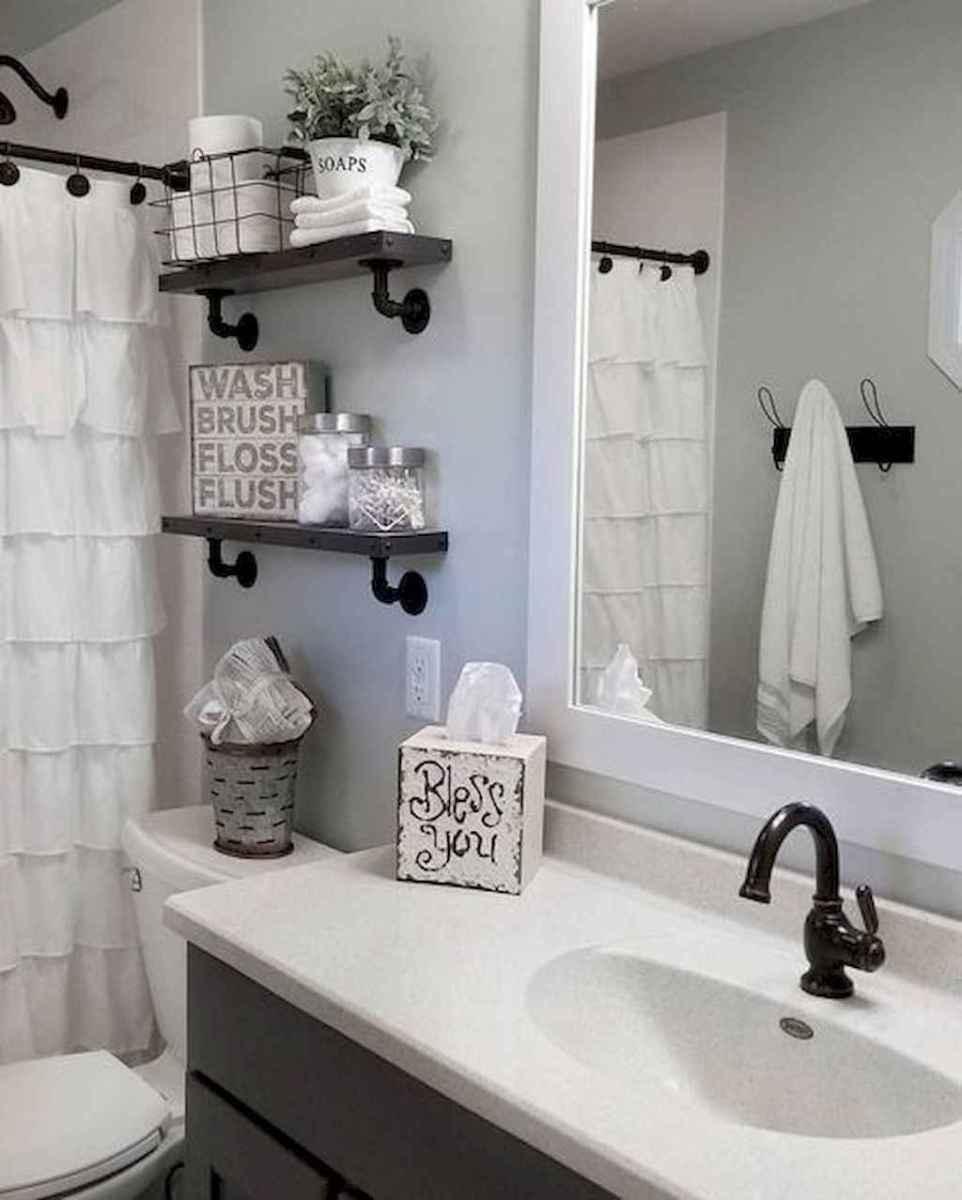 38 beautiful farmhouse bathroom remodel ideas