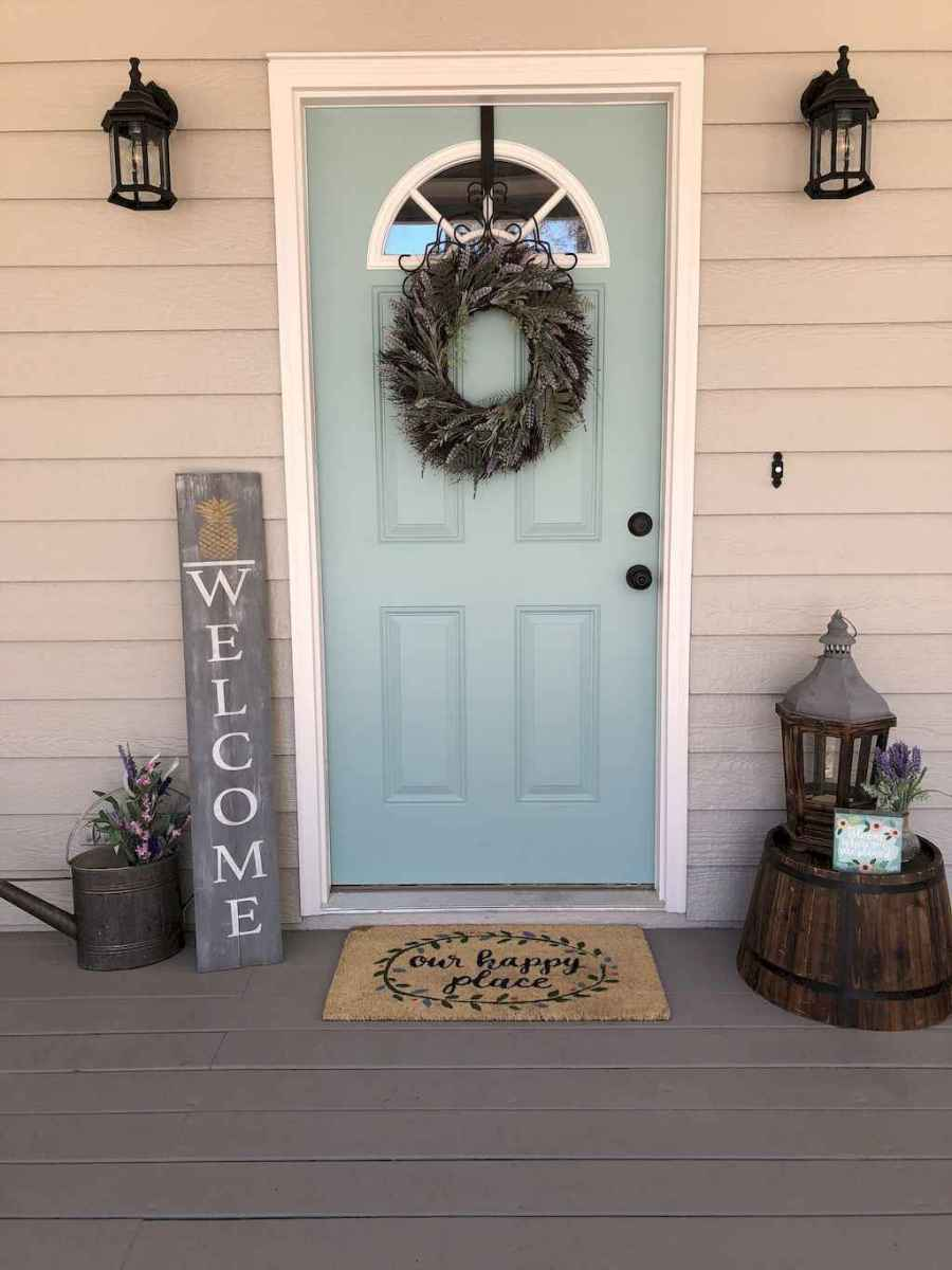 39 beautiful spring front porch decorating ideas