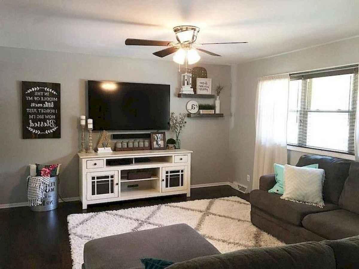 52 cozy farmhouse living room rug decor ideas