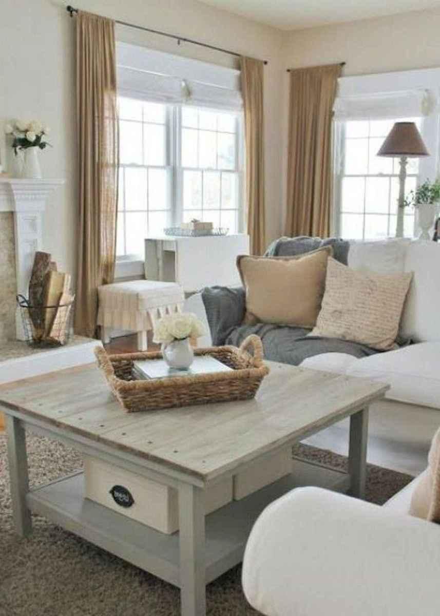 54 best modern farmhouse living room curtains decor ideas