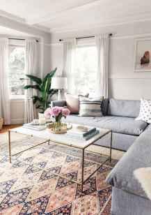 56 cozy farmhouse living room rug decor ideas