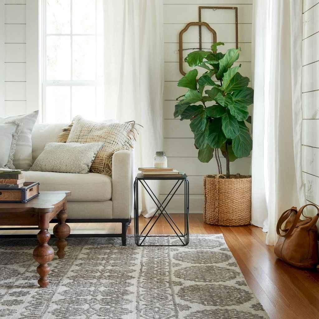 58 best modern farmhouse living room curtains decor ideas